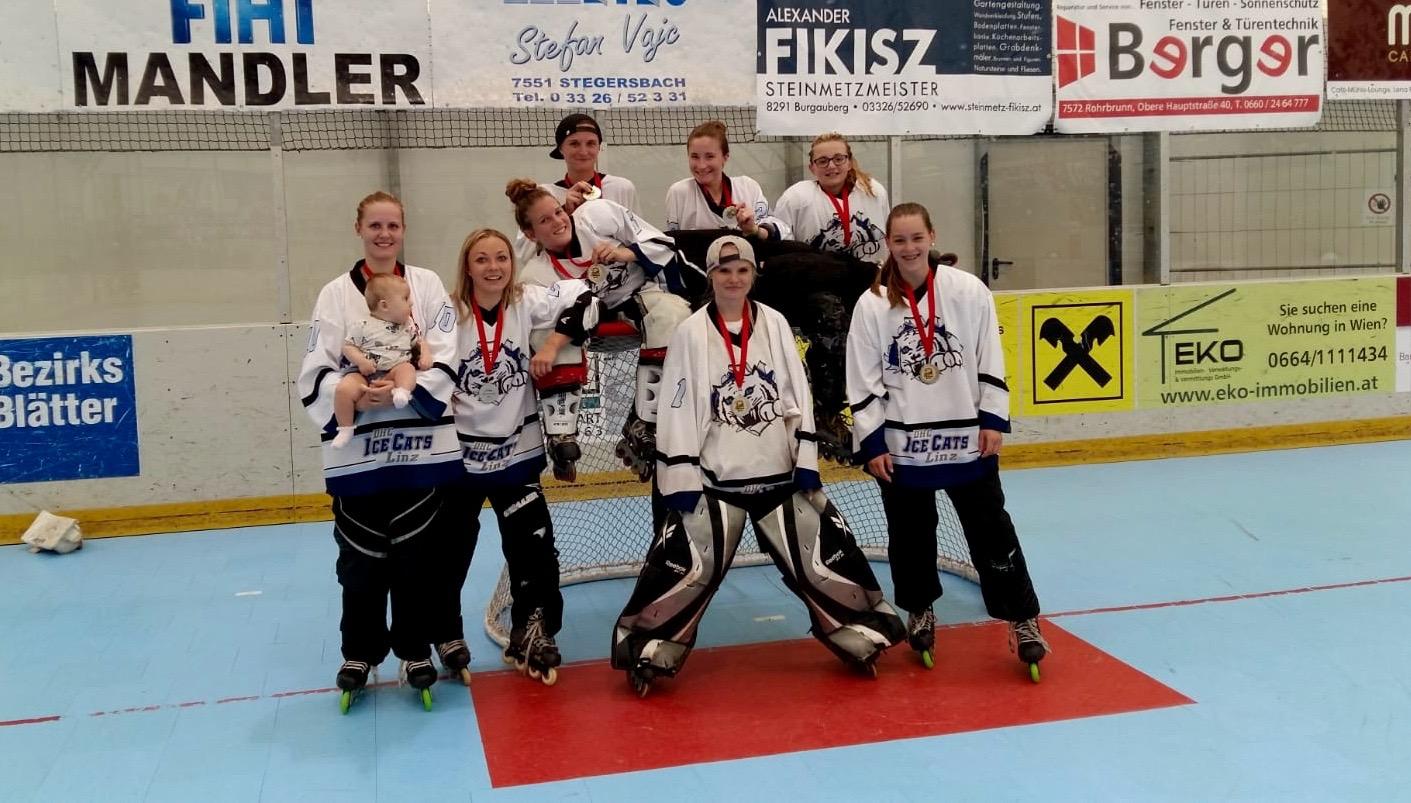 IceCats sind Vizemeister in der Damen-Inlineskaterhockey-Bundesliga - Damen Eishockey Club IceCats Linz