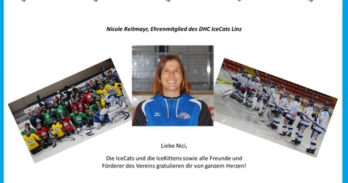 Ehrenmitglied Nicole Reitmayr